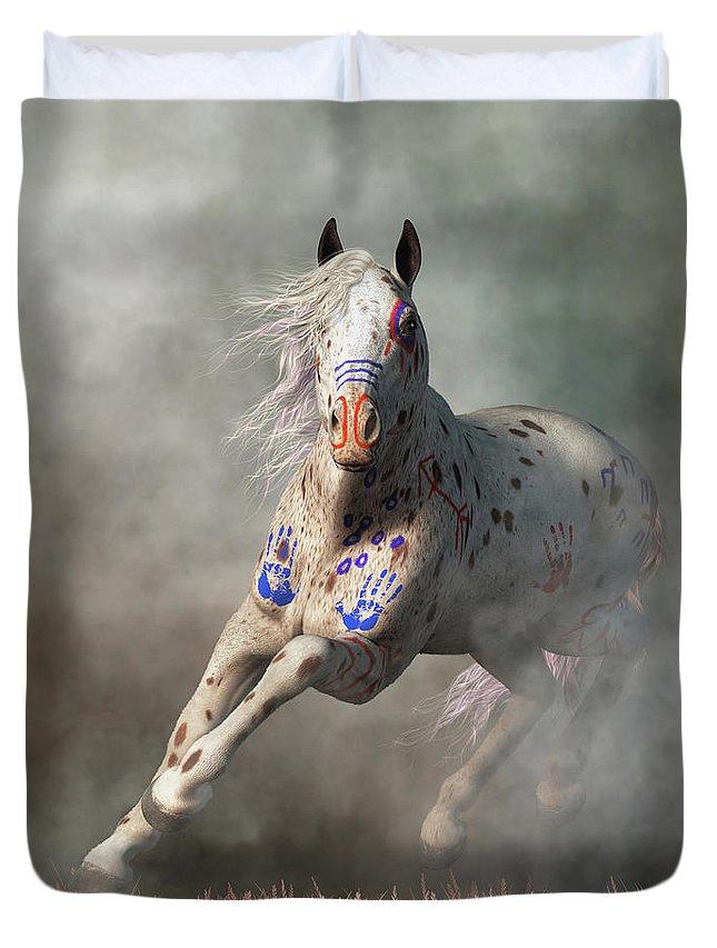 Appaloosa Warrior Horse