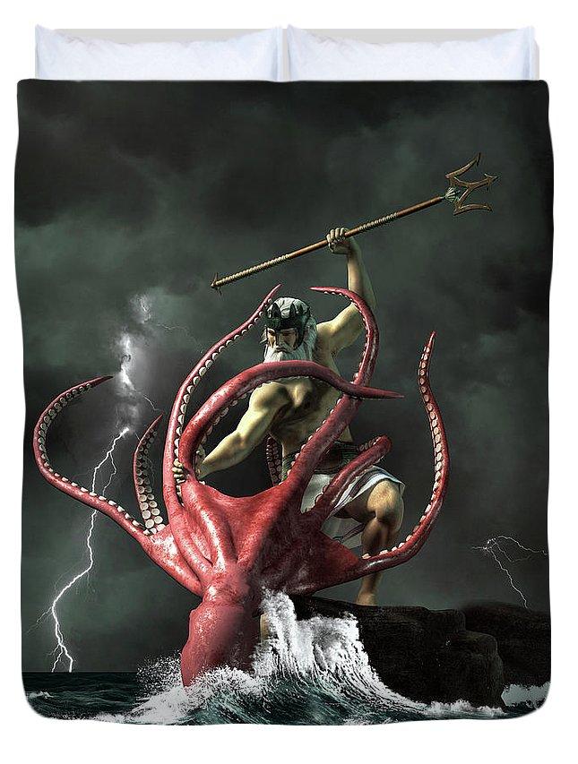 Poseidon vs. the Kraken