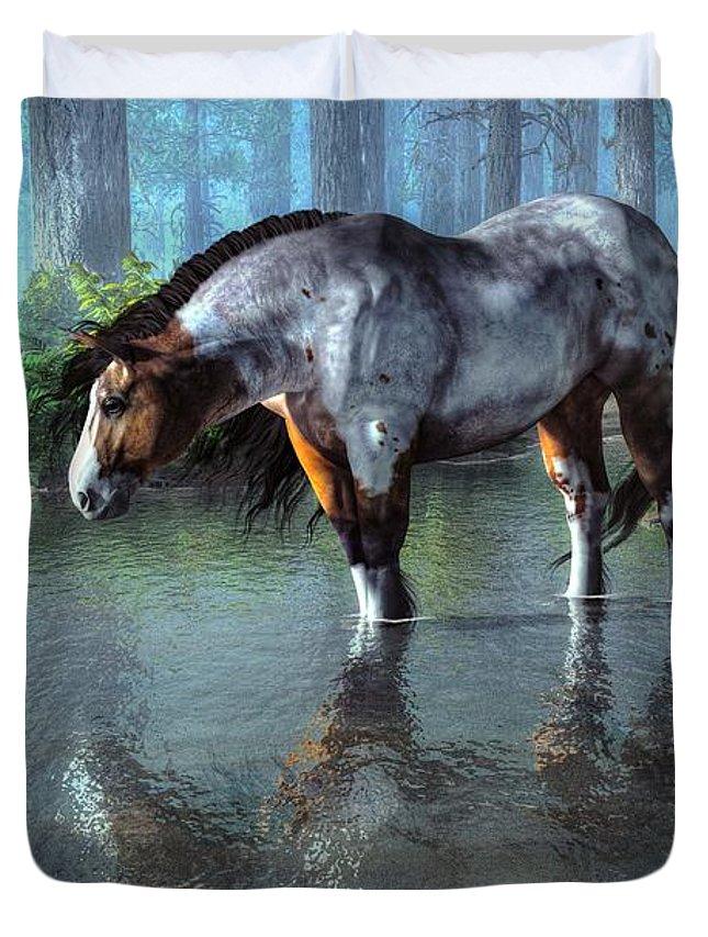 Wading Horse