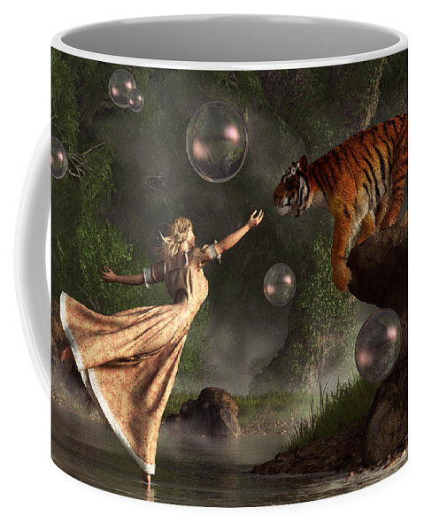 Surreal Tiger Bubble Waterdancer Dream