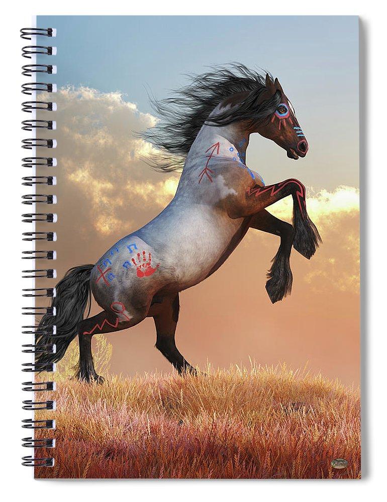 Rearing War Horse