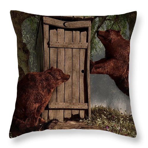 Bears Around The Outhouse