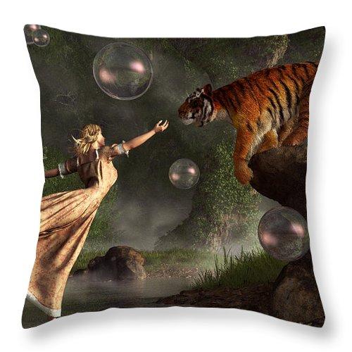 Surreal Tiger Bubble Waterdancer Dream