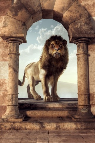 Door To The Lion's Kingdom