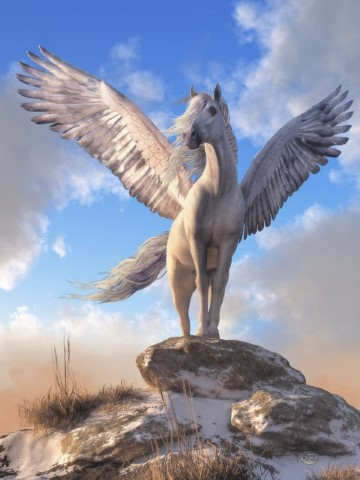 Pegasus The Winged Horse